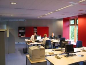 Flexibel open kantoor