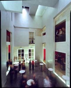 Foyer in binnenplaats