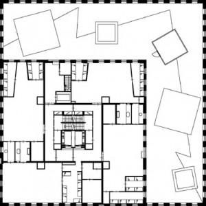 Tekening 3e verdieping