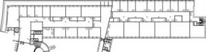 Tekening museumpark: oude situatie