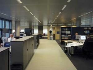 Flexibele kantoorvloer