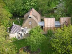 Een constellatie van typische huisjes