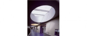 Tweede verdieping met ovalen lichtschachten