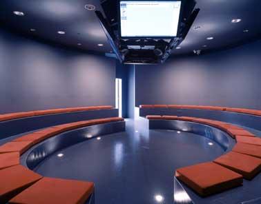 Transparant kunststof voor modieus interieur digital port for Interieur u arena
