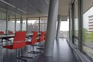 Vergaderruimte op verdieping