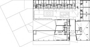 Tekening 3e verdieping toren 3