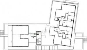 Tekening derde verdieping