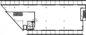 Tekening plattegrond verdieping de artisjok