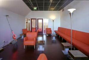 De VIP lounge
