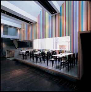 De straatwand in honderd kleuren