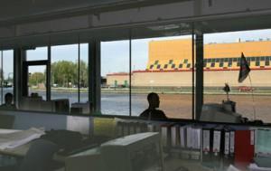 Uitzicht op Schie en gevangenis
