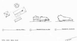 Tekening schets concept