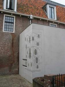 Print in betonnen nieuwbouw