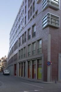 De smalle Nobelstraat