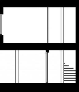 Tekening doorsnede type 1