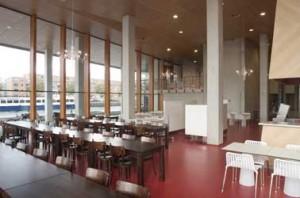 Het bedrijfsrestaurant