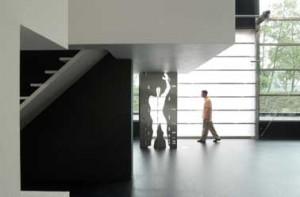 Stalen Modulor ondersteunt de vergaderruimte