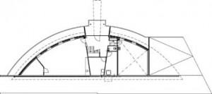 Tekening souterrain-Villa met kantoor aan huis