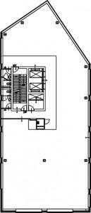 Tekening torenverdieping Zuid