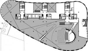 Plattegrond elfde verdieping