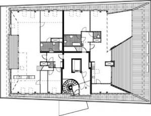 Plattegrond dakverdieping