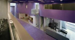 Foyer: kleurgebruik maakt de compositie helder