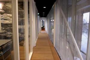 Ontsluiting van vergader- en cursusruimten op verdieping