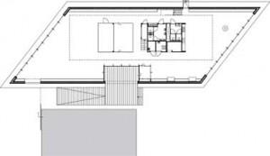 Plattegronden begane grond en verdieping 1:500