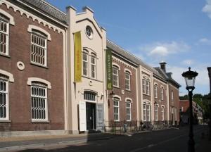 Agnietenstraat met entree dick bruna huis