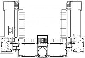 Plattegrond tweede verdieping