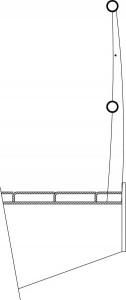Detail brugleuning