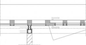 Horizontale doorsnede deurThe Eleventh House Schiedam
