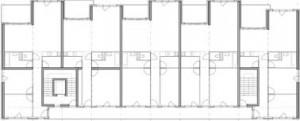 Verdiepingsplattegrond 1:500