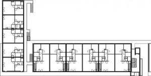 Plattergrond 1e verdieping