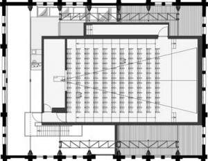 Plattegrond overzicht eerste verdieping