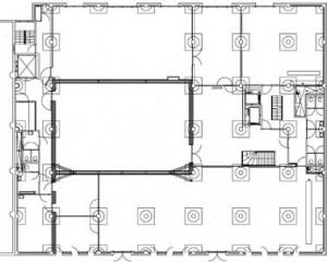 Plattegrond 5e verdieping