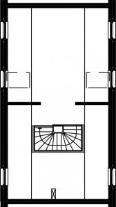 Tweede verdieping type B