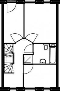 Eerste verdieping type C