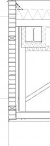 Detail dakoverstek 1:25