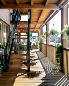 Persoonlijke buitenruimte appartementen