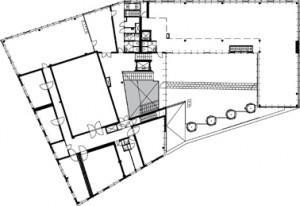 Plattegrond derde verdieping 1:750