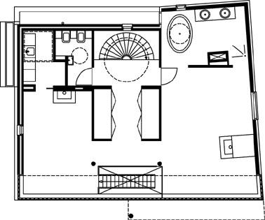 Plattegrond verdieping 1:200