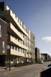 Appartementen en woningen aan de Muy