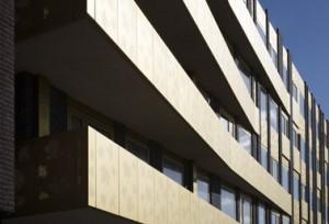 Detail van de Balkons