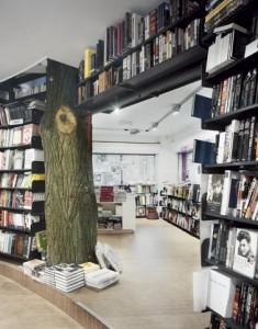 Begane grond, de boom is onderdeel van de draag contructie