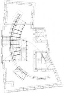 Plattegrond eerste verdieping 1:300