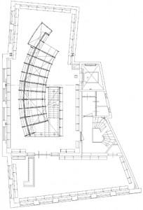 Plattegrond tweede verdieping 1:300