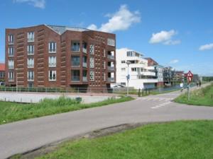 Villa Belfort is de beëindiging van een rij van twaalf urban villa's. Het dakterras van het penthouse is met lood bekleed
