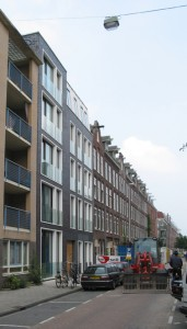 De appartementen in de Jacob van Lennepstraat