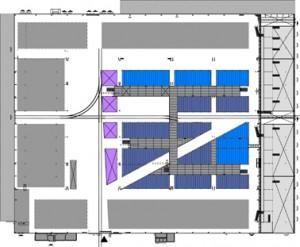 Plattegrond eerste verdieping schaal 1:2000